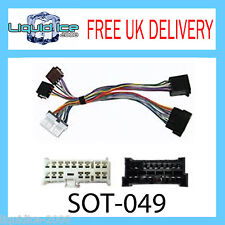 SOT-049 FITS HYUNDAI GETZ 2002 ONWARDS BLUETOOTH ISO PARROT ADAPTOR WIRING LEAD