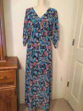 Leola Kimono Sleeve Midi Dress M