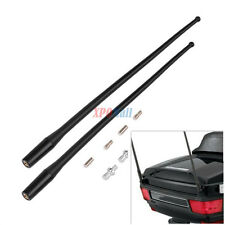"For 1985-2013 Harley Davidson Touring Antenna Masts AM FM Radio Masts 13"" 2pcs"