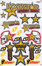 Nue Rockstar Energy Racing Supercross Aufkleber set. (st97)