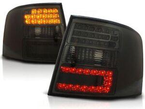 AUDI A6 WAGON 1997 1998 1999 2000 2001 2002-2004 TAIL LIGHTS LDAU44 SMOKE LED
