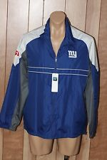 MEN'S NEW YORK GIANTS FULL ZIP WINDBREAKER JACKET-SIZE: LARGE