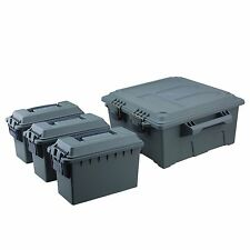 High Desert Large Ammo Crate Utility Box with 3pc .30 Cal Caliber Ammo Boxes