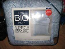 TWIN XL DORM BEDDING SET - 5 PIECE BED IN A BAG COMFORTER SET FLORAL RET.$129.99