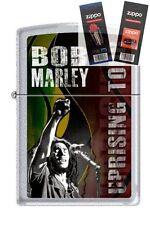 Zippo 1039 bob marley uprising tour Lighter with *FLINT & WICK GIFT SET*