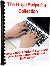 Copywriting - Marketing - Sales - Huge Swipe File Collection Download