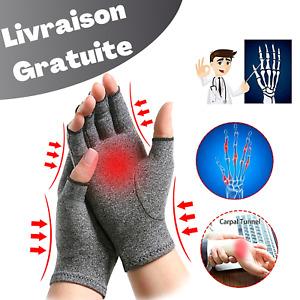 Gant Anti Arthrite Gant de Compression Arthrose Mitaine de Contention Rhumatisme