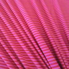 Stoff Meterware Baumwolle Jersey Ringeljersey Streifen pink rot