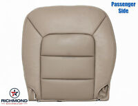 2006 Ford Expedition Limited AC -PASSENGER Side Bottom Leather Seat Cover Tan