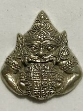 PHRA RAHU LP RARE OLD THAI BUDDHA AMULET PENDANT MAGIC ANCIENT IDOL#31