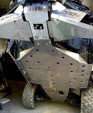 "Polaris Rzrs 900 Full Skid Plate 3/16"" Thick Aluminum Rzr S 900 900s Xc 13-17"