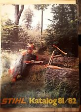 Stihl Katalog 1981-2000 DVD Motorsäge Freischneider