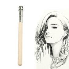 Wood Single Head Adjustable Art Pencil Extender Holder Art Writing-Tools J6A9