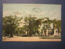 Old Vintage 1908 - WESTFIELD - MASS. - POSTCARD - Looking Up COURT ST.