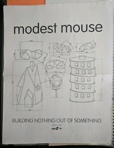 Modest Mouse building nothing out of something poster vintage 90s authentic