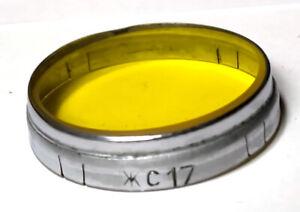 yellow-17 filter  diameter D42 for Jupiter-8 etc