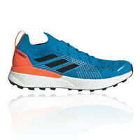 adidas Mens Terrex Two Ultra Parley Trail Running Shoes Trainers Sneakers - Blue
