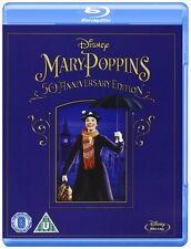 Mary Poppins: 50th Anniversary Edition (Blu-ray, Region Free) *NEW/SEALED*