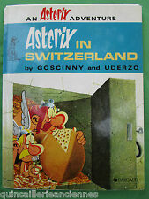 "Album BD anglais ""Astérix In Switzerland"" ancien Goscinny & uderzo 1981?"