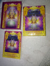 Angel Answers Oracle Cards 44-card Deck and Guidebook, Doreen Virtue RARE