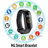Smart Band Watch Bracelet Wristband Blood Pressure Heart Rate Tracker M4