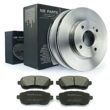 Bremsscheiben 258mm belüftet Bremsbeläge vorne Ford Fiesta 6 VI 1.0 - 1.6 Van