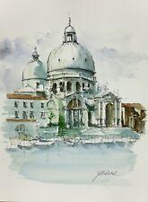 Venice, Watercolour painting by Tomasz Mikutel (unframed)