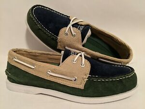 Sperry Top-Sider New AO 2 Eye Corduroy Men's Shoe Size US 9