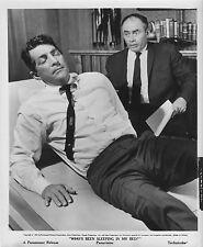 WHO'S BEEN SLEEPING IN MY BED orig 1963 still photo DEAN MARTIN/MARTIN BALSAM