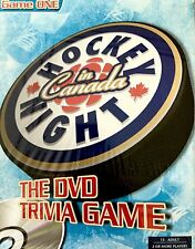 HOCKEY NIGHT IN CANADA THE DVD TRIVIA GAME ONE NEW IN SEALED BOX!