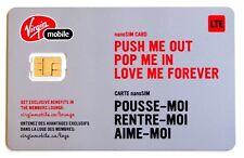 Virgin Mobile Canada Nano Sim Card