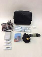 Lufthansa First Class Men's Windsor Amenity Kit La Prairie Travel Kit Black Duck