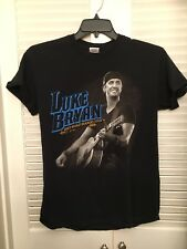Luke Bryan 'Dirt Road Diaries Tour' 2013 Concert Tour T-Shirt Medium Black