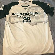Zimagear Zflo Tech Greene Turtle Lenape Lacrosse Men's Shooter Shirt Large