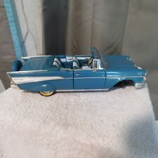 1957 CHEVY BEL AIR,ROAD TOUGH,1:18 SCALE, DIE CAST,CONVERTIBLE