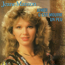 JEANE MANSON AIMER C'EST MOURIR UN PEU / GABRIEL AND ME FRENCH 45 SINGLE