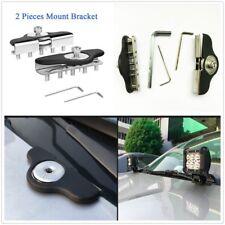 New Universal Work Light Bracket Anti-slip Stainless Steel Car Lamps Stand