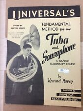 Universal's Fundamental Method for the Tuba and Sousaphone (Elementary)