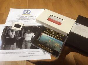 Whitney Houston  When You Believe USA Press Kit Promo Videos / CD / Slide. RARE