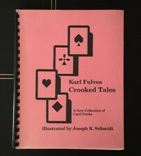 New ListingKarl Fulves Crooked Tales Card Tricks Gambling Magic Riffle Work Erdnase Rare