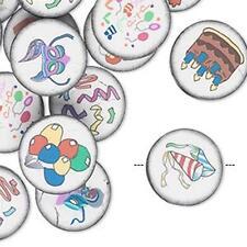 4966 Polyclay Beads PK30 Party Assorted Round *UK EBAY SHOP*