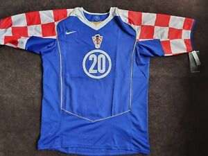 Nike Croatia HNS Rossi Football Soccer Shirt Jersey XL New with Tag 2001