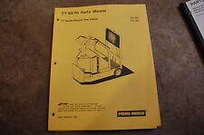 BT Prime Mover TT 50 70 ELECTRIC TOW TRACTOR Parts Manual catalog book 1985 shop