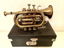Trompette de Poche Ancienne Bessons & Co / Old Pocket Trumpet