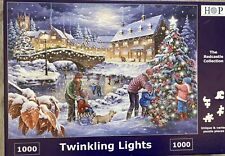 House of puzzles 1000 piece jigsaw puzzle TWINKLING LIGHTS ~ Made Once Complete