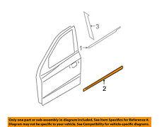 HYUNDAI OEM 07-09 Santa Fe FRONT DOOR-Body Side Molding Left 877502B000