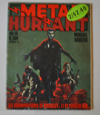 METAL HURLANT No.14 French Comic Magazine (HEAVY METAL) 1977 Druillet, Moebius