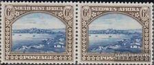 Namibië - Southwest 150-151 horizontaal Echtpaar met Fold 1931 Landesmotive