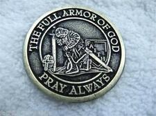 Catholic Armor of God Coin + Prayer Books + Holy Cards  - FREE SHIPPING in USA