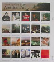 Four Centuries of AMERICAN ART Pane of 20 Stamps Sheet US Scott #3236 MNH Sealed